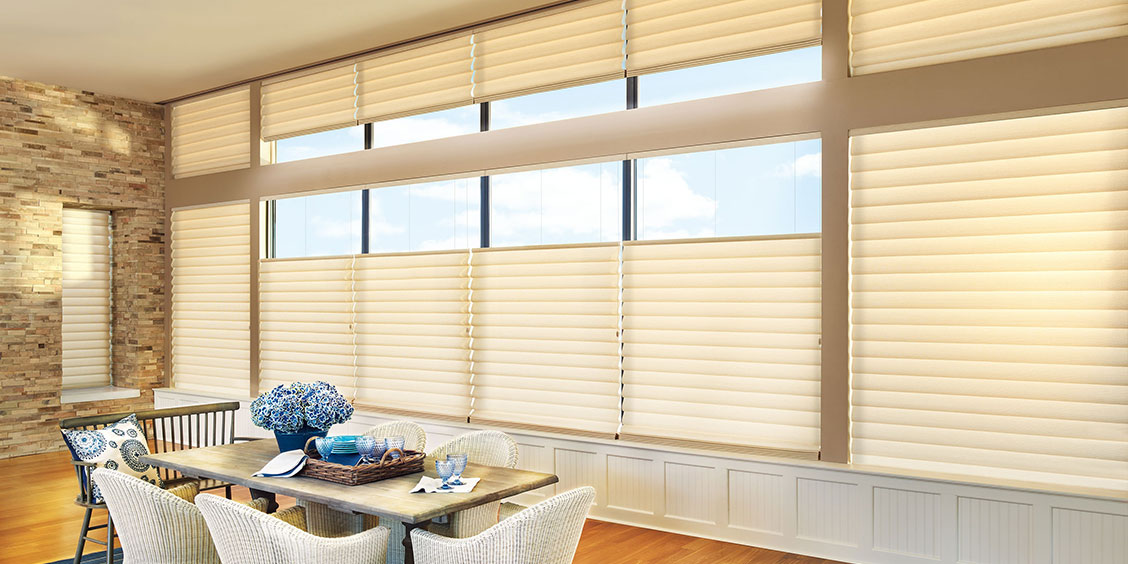 Vignette Modern Roman Shades - Hunter Douglas Gallery - Imagine More